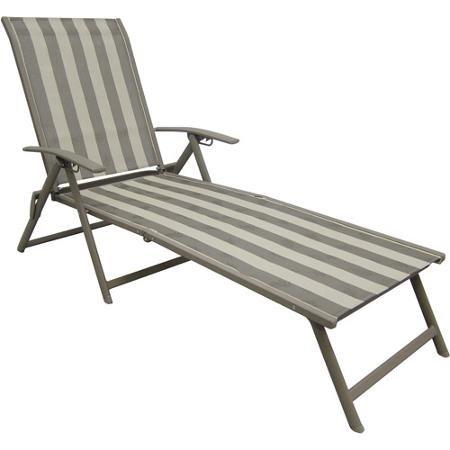 Best Mainstays Fair Park Sling Folding Lounge Chairs Set