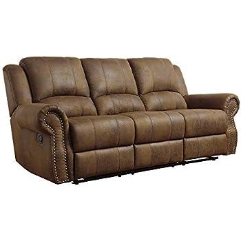 Amazon Com Coaster Walter Casual Dual Reclining Sofa