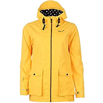 Gelert Womens Coast Jacket Ladies Full Zip Outdoor Hooded Top Coat ...