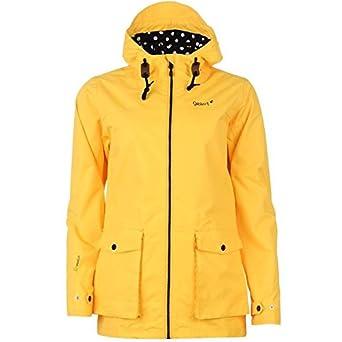 Gelert Womens Coast Jacket Ladies Full Zip Outdoor Hooded Top Coat ...
