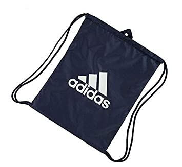 99f8aef53456 Adidas Performance Logo Gym Bag Gymsack Navy  Amazon.co.uk  Sports    Outdoors