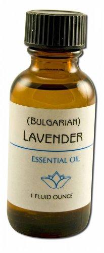 Lotus Light Pure Essential Oils - plain label Lavender (Bulgarian) 1 oz