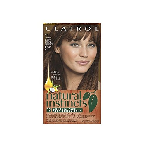 Price comparison product image Clairol Natural Instincts 5G Pecan Medium Golden Brown 1 Kit