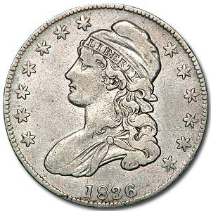 - 1836 Capped Bust Half Dollar XF Details (Cleaned) Half Dollar Extremely Fine