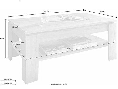 Trendteam CT Couchtisch Wohnzimmertisch Tisch