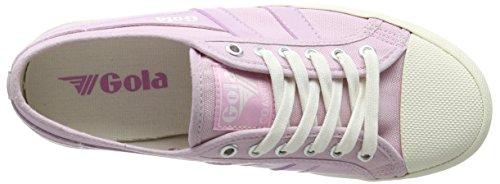 Gonna Womens Coaster Fashion Sneaker Rosa Pastello / Bianco Sporco