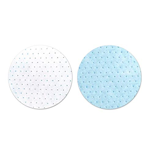 Disposable Activated Carbon Face Mask Filter Replacement Pad Isolation Anti-Haze Filter Dust-Proof Breathable Combination Replacement Pad Cotton Filter,5 Layers Protective Breathable (Round Filters)