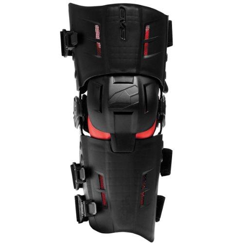 EVS Sports RS9 Left Knee Brace (Black, Small)
