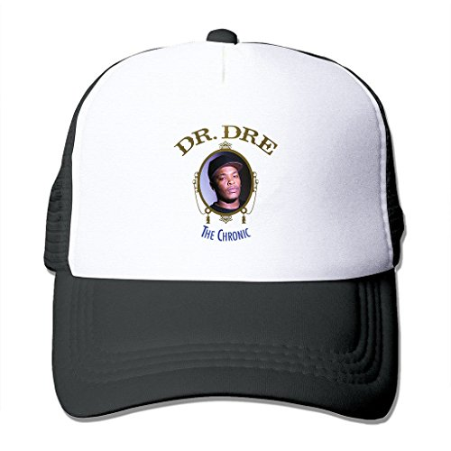 LIANBANG-Dr-Dre-Adjustable-Printing-Mesh-Cap-Unisex-Adult-Sun-Visor-Baseball-Mesh-Hat