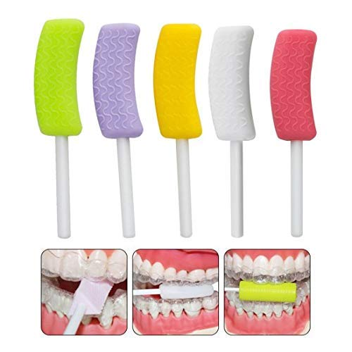 Dental Aligner Chewies Invisible Mouth Tray Seater Invisalign Brace 1set (Mint flavor) from Carejoy