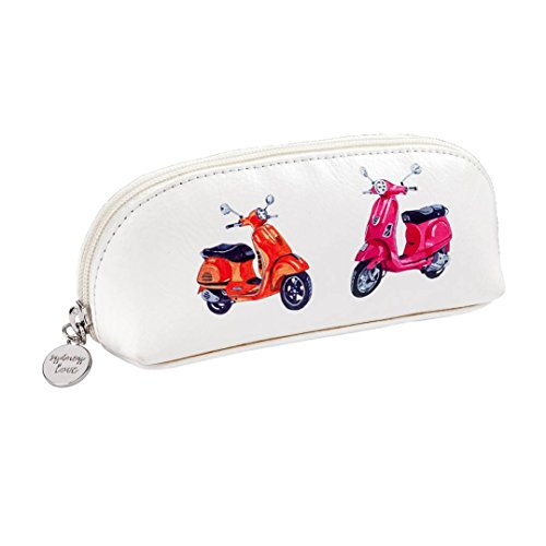Sydney Love Easy Rider Zip Cosmetic Sunglass Case, Bicycle