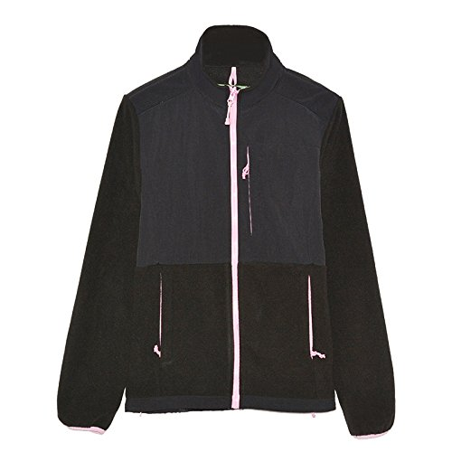 [해외]NICE GAIN 여성용 전체 지퍼 방풍 플리스 자켓 라이트 폴라 플리스 코트 아웃 도어/NICE GAIN Women`s Full-zip Windproof Fleece Jacket Lightweight Polar Fleece Coat Outdoor