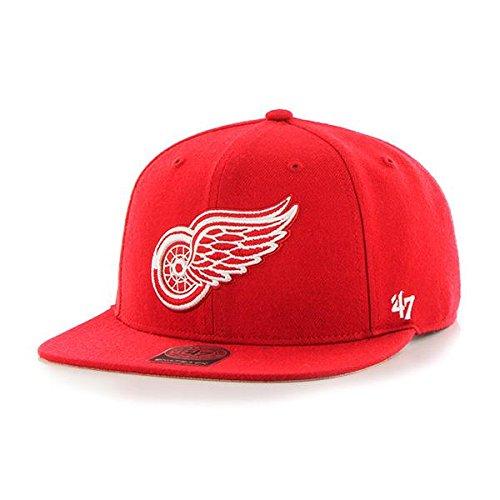 '47 Sure Shot capitaine Casquette NHL équipes - Detroit Ailes rouges '47