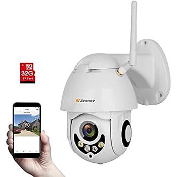 Amazon Com Jennov Wireless Security Ip Camera Hd 1080p