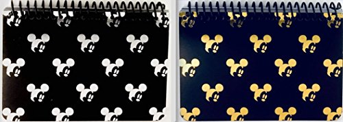Mickey Autograph (DISNEY MICKEY MOUSE BLACK SPIRAL AUTOGRAPH BOOKS - (2 Books Set) (SMALLHEAD))