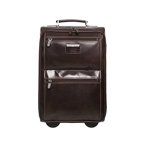 Oxford Brown Hide and Jekyll Trolley 35 cm ExaZnqIpw