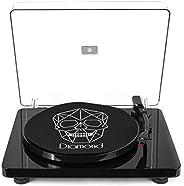 Vitrola Toca Discos Diamond - Black - Agulha Japonesa com software de gravação para MP3