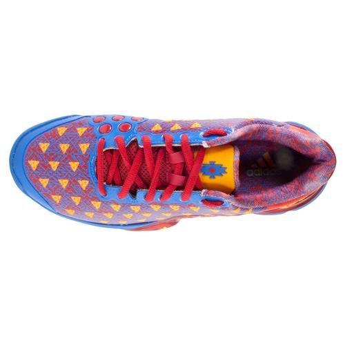 Adidas Barrikad 2015 Sacsayhuamán Vägg Tennis Sneaker Skor - Mens Scarlet / Vit / Ljus Royal