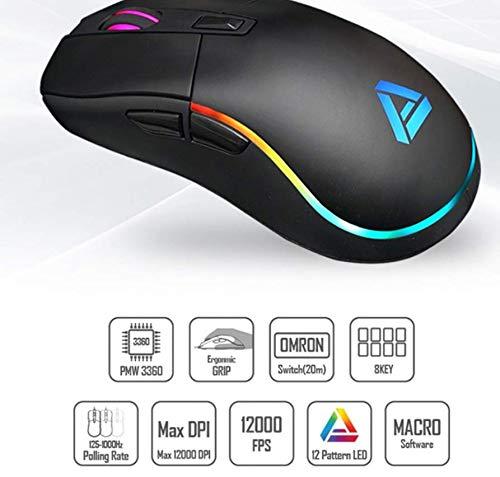 Apix 12000DPI PMW3360 Sensor Gaming Mouse GM003