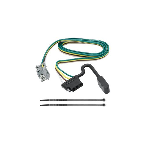 Vehicle Hitch Wiring For - GMC - Terrain - 2010-2017 - w/Factory Tow Package, Replacement OEM Tow Package Wiring Harness (4-Flat) (Oem Tow Package Replacement Wiring)