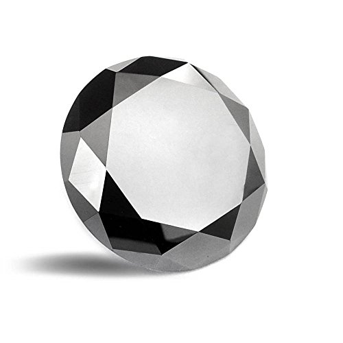 4.35 Ct Round Diamond (Skyjewels Certificate 4.35 Cts Round Cut Loose Natural Black)