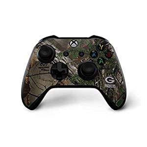 Green Bay Packers Xbox One X Controller Skin - Green Bay Packers Realtree Xtra Green Camo | NFL X Skinit Skin