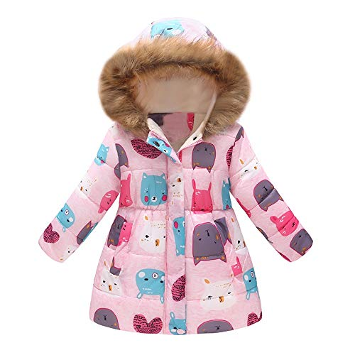 Baby Girls Phat For Coats (VEKDONE Coat Toddler Jacket Outwear Baby Girl Butterfly Pattern Winter Clothes)