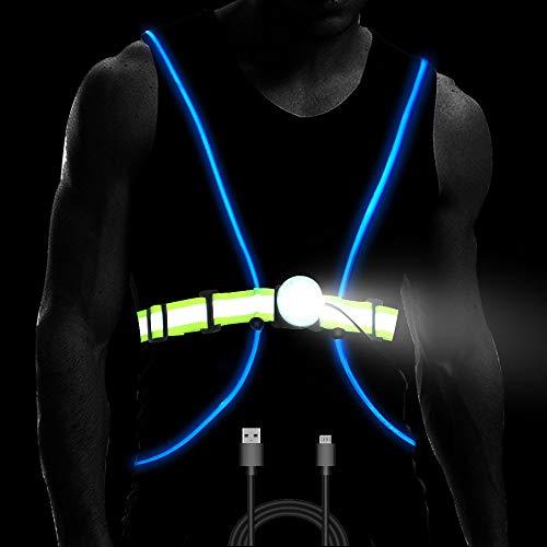 LED Running Reflective Vest