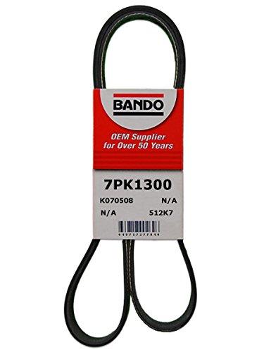 Bando 7PK1300 OEM Quality Serpentine Belt by Bando