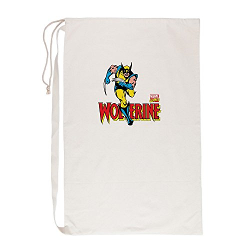 - CafePress Wolverine Running - Laundry Bag, 23