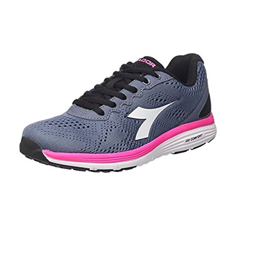Diadora Women's Swan 2 W Competition Running Shoes Grigio i8qKPVMhL