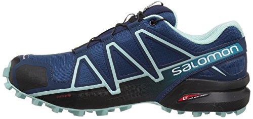 Salomon Women's Speedcross 4 W Trail Running Shoe Poseidon 5 M US by Salomon (Image #5)