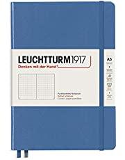 Leuchtturm1917 Special Edition Muted Colors Hardcover A5 Medium Dotted Notebook - Denim