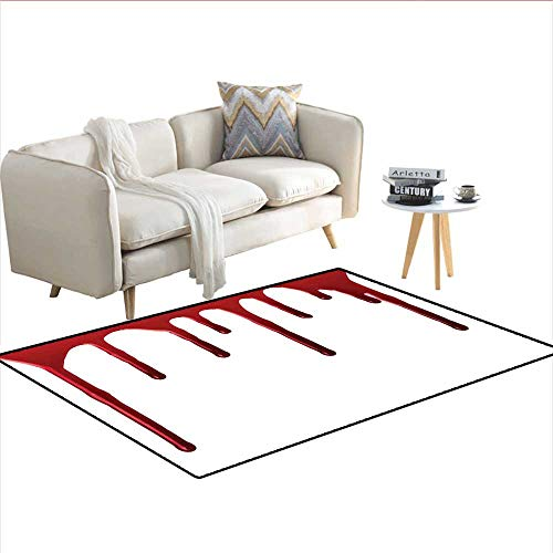 Carpet,Flowing Blood Horror Spooky Halloween Zombie Crime Scary