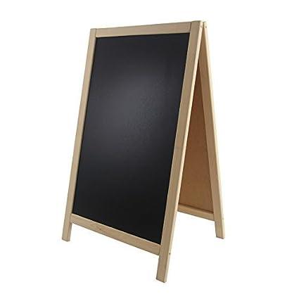Soporte para carteles madera 93 x 56 cm de mesa soporte ...