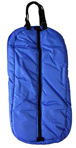 Bridle Halter Bag Case Carrier Horse Tack 420D Padded 3 Inner Loops Royal Blue