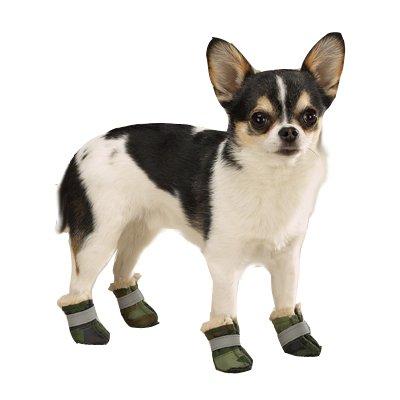 UPC 721343696438, Camo Oxford Dog Boots XX-Small (XXS) Green