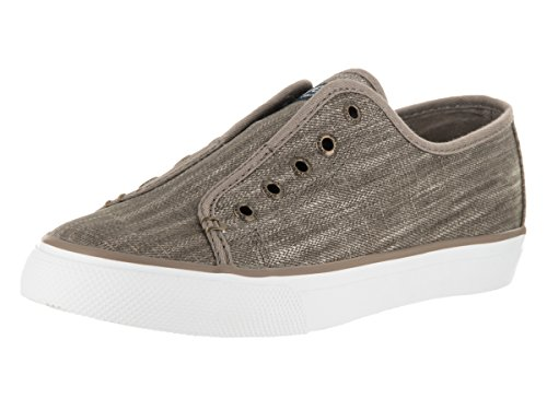 Sperry Top-Sider Women's Seacoast Ripstop Canvas Taupe Sneaker 10 M (B)