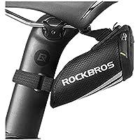 Bolsa Bag Bike Selim Bicicleta Rockbros Mini Super Compacta Prova d´Água Trava Prático