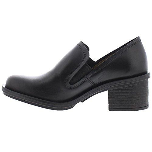 FLY London Coby087fly, Zapatos de Tacón con Punta Cerrada para Mujer Negro (Black)