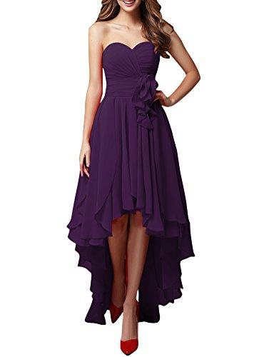 LOVEBEAUTY Chiffon Sweetheart Bridesmaid Dresses product image
