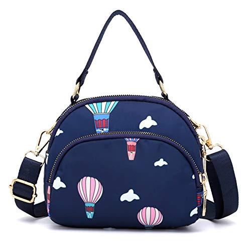 Water Crossbody Handbags Blue Messenger Multi Shoulder b Women Purse bag Anti Badiya Bags Pocket splash Tote wqFtHBa
