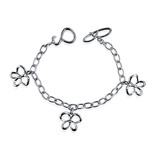 Diamond Butterfly Charm - Sterling Silver Jessica Simpson Diamond Accent Butterfly Charm Bracelet