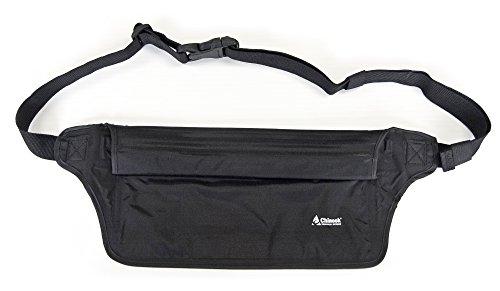 Chinook aquatight Wasserdicht Taille Tasche, Schwarz
