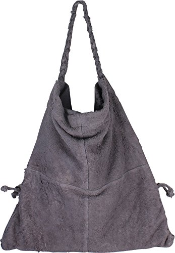 Authentic Grey Tote Leather Geniuine Fashion Leathers Bag Luxury Latico xPwYzqP7