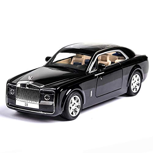 DieCast 1/24 Scale Metal Model Car Toy Alloy Rolls Royce Sound and Light