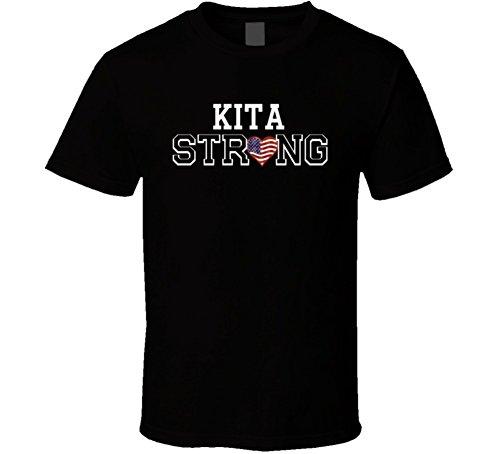 Kita Strong American Pride Family Last Name USA T Shirt XL - Usa Kita