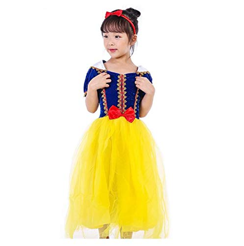 Princess Snow White Costume for Girls Halloween Long