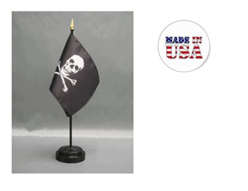(Made in The USA. 2 Jolly Roger Pirate Flag 4
