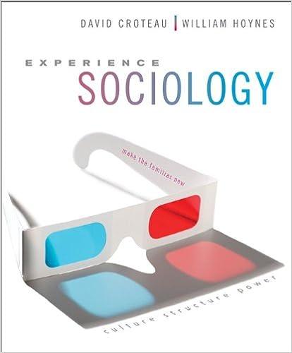 EXPERIENCING SOCIOLOGY CROTEAU PDF DOWNLOAD